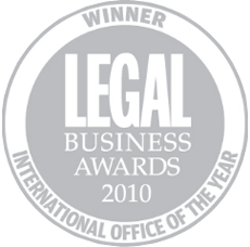 Legal business awards 2010